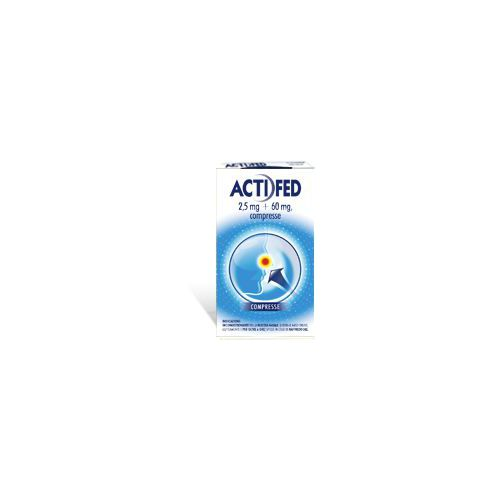 ACTIFED 12CPR 2 5MG+60MG