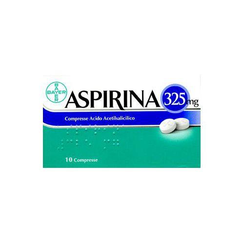 ASPIRINA 10CPR 325MG
